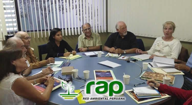 REUNIÓN RED AMBIENTAL PERUANA – RAP,  COP21 & ODS